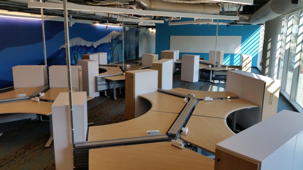Google Campus Pearl Place Furniture Installation Boulder