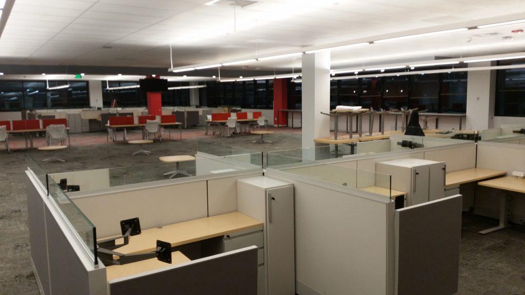 Comcast Office Furniture Installation Fort Collins