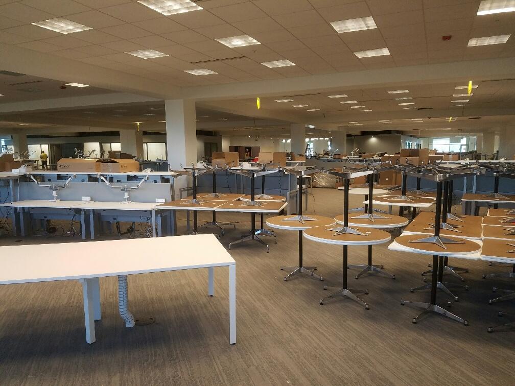 Verizon Office Furniture Installation Denver