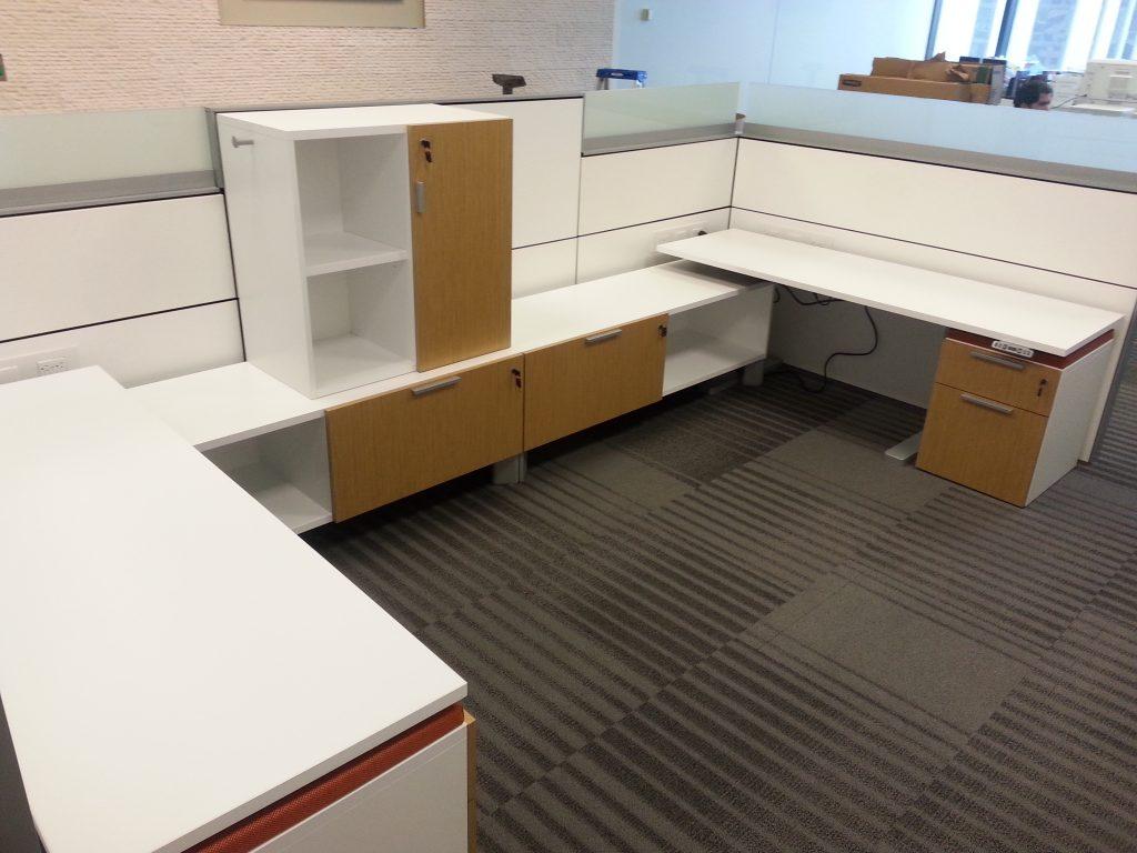Piper Jaffray Office Furniture Installation Denver