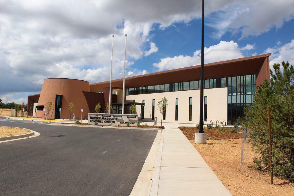Montezuma Combined Courts Office Furniture Installation Cortez